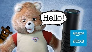 Alexa Ruxpin - Raspberry Pi & Alexa Powered Teddy Bear