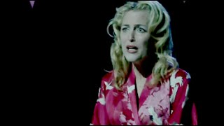 blanche dubois [gillian anderson] //all dolled up in straps