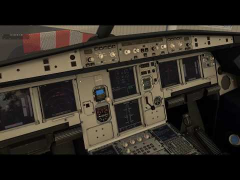 [X-Plane 11] Flight Factor A320 - Test drive with a real pilot (live stream replay)