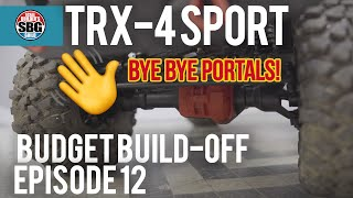Traxxas TRX-4 Sport Kit Budget Build-Off Ep12 - Uh oh!