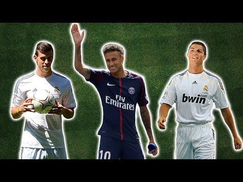 The Evolution Of The World Record Transfer Fee
