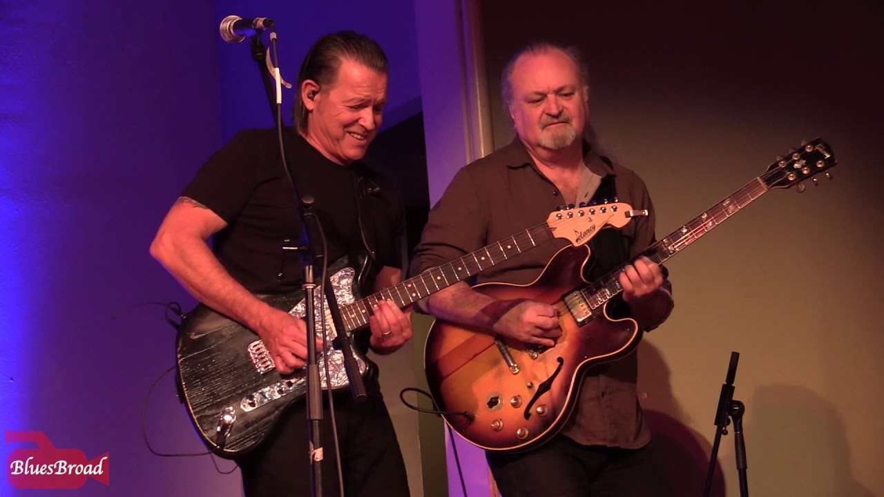 Video: TOMMY CASTRO & TINSLEY ELLIS • Keep On Smilin' • Homer NY 11/10/18