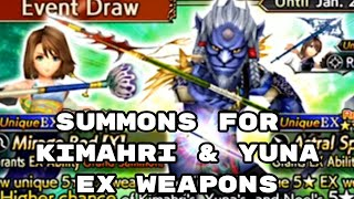 Summons for Kimahri EX Weapon - DFFOO - Dissidia Final Fantasy: Opera Omnia