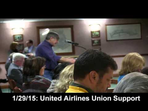 United Airlines Union Support