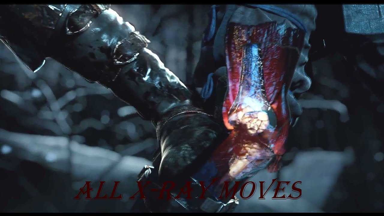 Mortal Kombat X X-ray on Kung Lao - YouTube