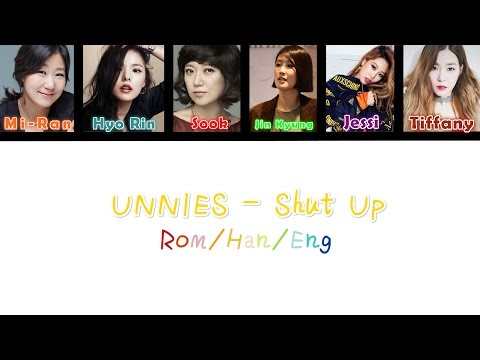 UNNIES (언니쓰) - Shut Up [Eng/Rom/Han] Picture + Lyrics Color Coded HD