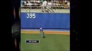 Montreal Expos Dennis Martinez Final Out Perfect Game July 28 1991