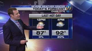 Tuesday morning forecast from meteorologist Keith Monday