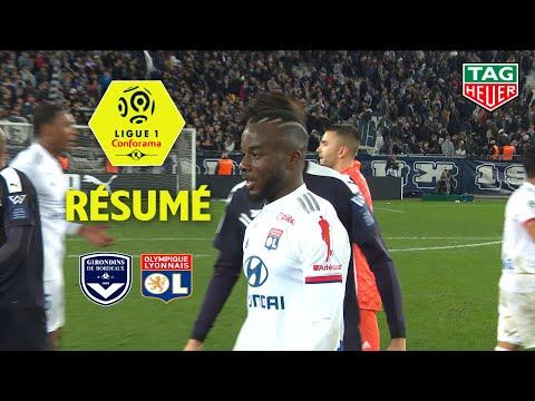 Girondins De Bordeaux - Olympique Lyonnais ( 1-2 ) - Résumé - (GdB - OL) / 2019-20