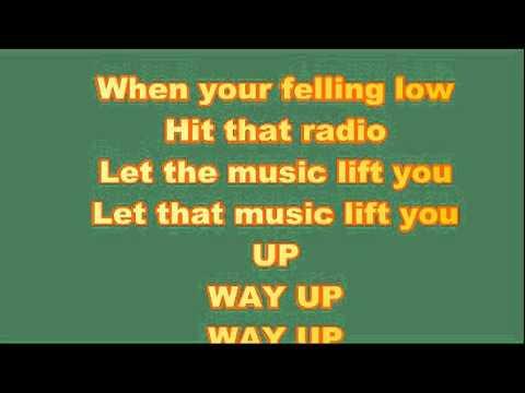 Reba Mcentires let the music lift you up lyrics video