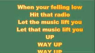 Reba Mcentires let the music lift you up lyrics video