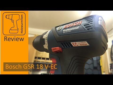 Review Bosch GSR 18 V-EC 2016 (with english subtitles)