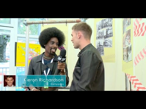 Manchester Pride 2015: Kieron Richardson Interview (Hollyoaks)