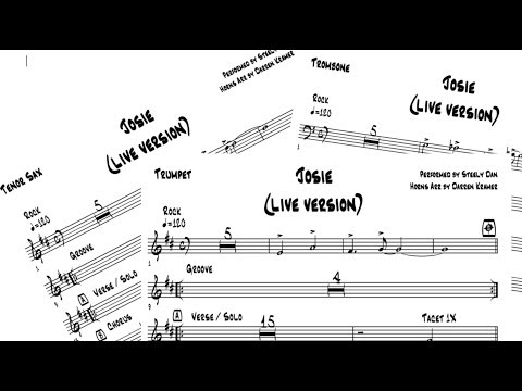 DKO LESSONS Transcribing & Arranging Horn Parts from Steely Dan Josie PREVIEW