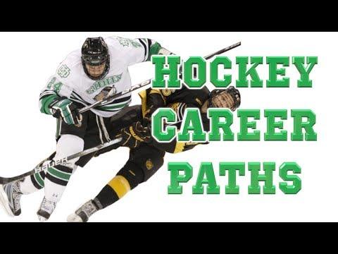 Hockey Career Paths Pee Wee to Pro: AHL, CHL, ECHL, USHL, CJHL, NAHL, NCAA, USport, etc.