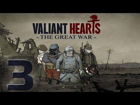 Видео: 🔴Valiant Hearts: The Great War - Первый раз - Прохождение #3 Тяжелый Финал!