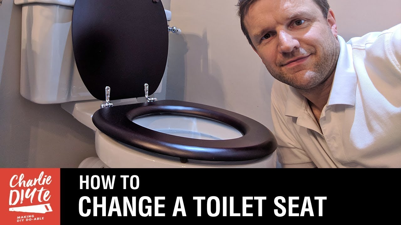 How To Change A Toilet Seat Youtube