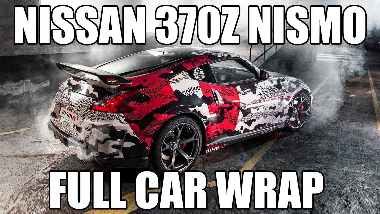 Nissan 370z nismo - FULL CAR WRAP FOR GUMBALL 3000 ...