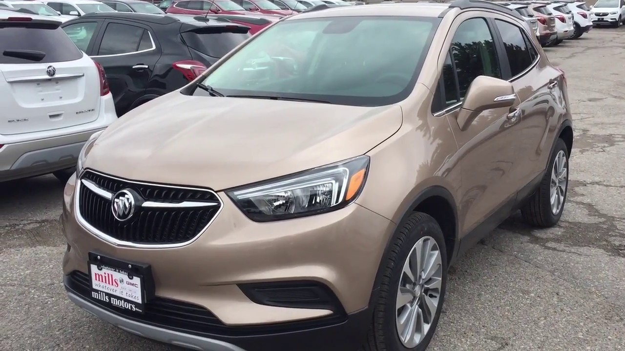 2018 Buick Encore Fwd Apple Car Play Android Auto Copper Oshawa On