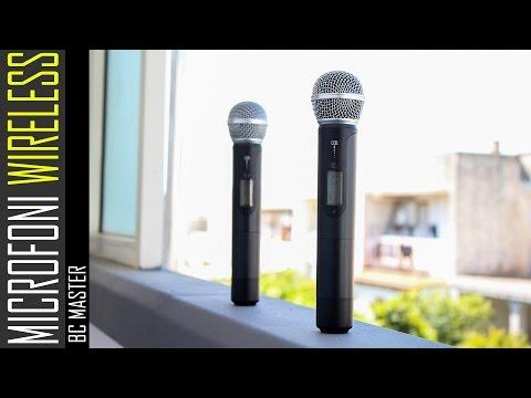 Microfoni Wireless RECENSIONE - BC Master BCM-WS222H