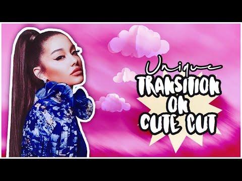 Unique Transition On Cute Cut!