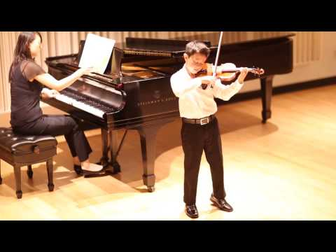 Beethoven Romance no2 op 50 in F major, Nathan Gendler, 10 yrs, on 12 size violin