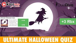 Ultimate Halloween Quiz Answers 100% | Quiz Diva | QuizHelp.Top