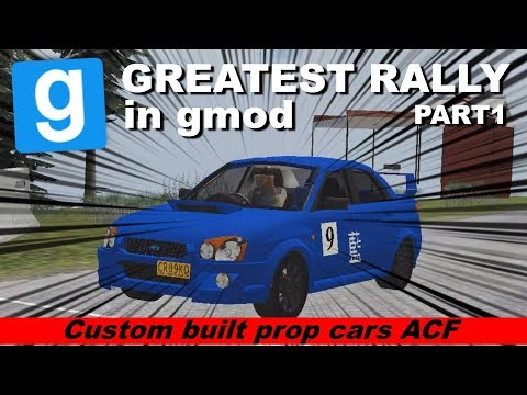 The Most Epic Custom Race in Garry's Mod Ever - Part1