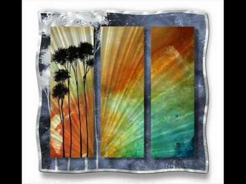Tropical Sunset By Megan Duncanson.wmv