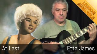 At Last - Etta James - solo guitar - Jake Reichbart - Lesson Available