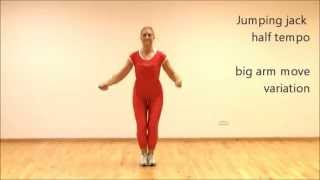 Jump rope rhythm variation | Jumping jack | Marina Aagaard, MFE