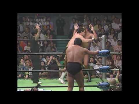 三沢光晴 潮崎豪vs藤波辰爾 西村修(2007.9.9)