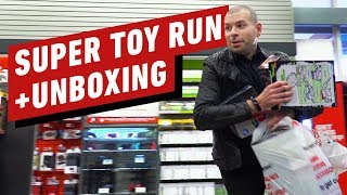 Unboxing EVERYTHING from our Super Toy Run!