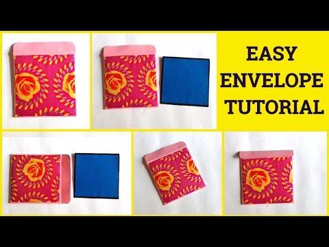 Easy Envelope Tutorial By Sangitaa Rawat   Paper Envelope Ideas   Envelope For Cards   Handmade