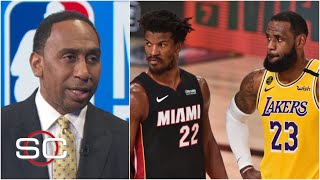 Stephen A. says the NBA Finals are over for the Heat   SportsCenter