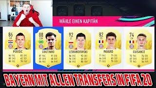 So sieht der FC Bayern mit allen Transfers in Fifa 20 aus! - Fifa 19 Fut Draft Ultimate Team