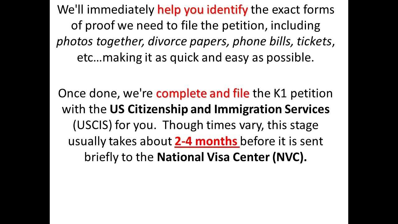 Fiance Visa Processing Time