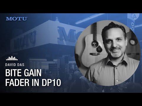 Bite gain fader in DP10