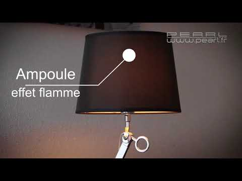 ampoule led effet flamme e27 160 lumens pearltv fr youtube. Black Bedroom Furniture Sets. Home Design Ideas