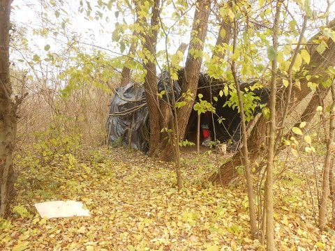 Abandoned DIY Tent