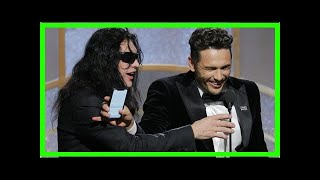 TODAY NEWS - Tommy Wiseau shows what he can say on stage at the Golden Globe Awards