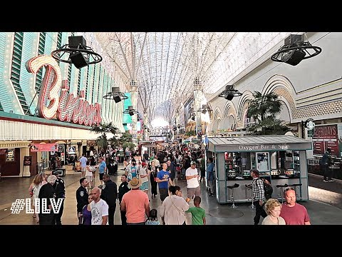 We Explored Fremont Street during the DAY!