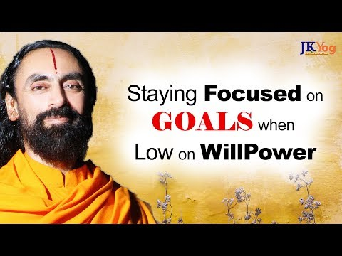 Low on WillPower - How can I Stay Focussed on my Goals? | Q/A with Swami Mukundananda