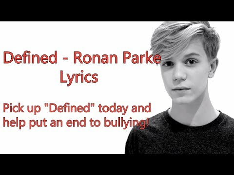 Ronan Parke - Defined [Lyrics]