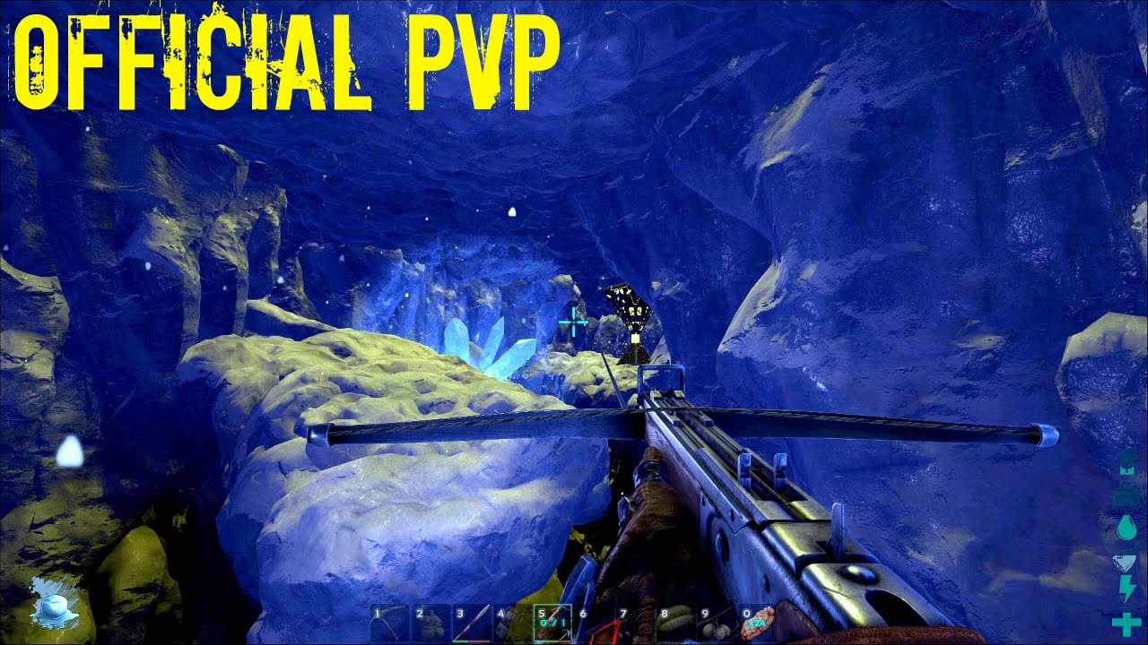 NORTH TUNDRA CAVE LOOT CRATE and Quetzal Tame - Official PVP (E43) - ARK  Survival