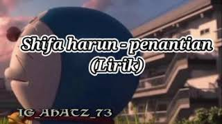 Download Lagu Lirik lagu syifa harun penantian mp3