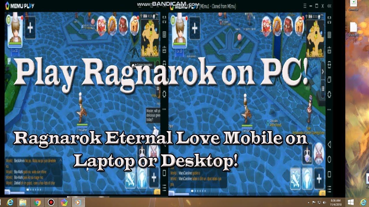 ragnarok eternal love apk emulator