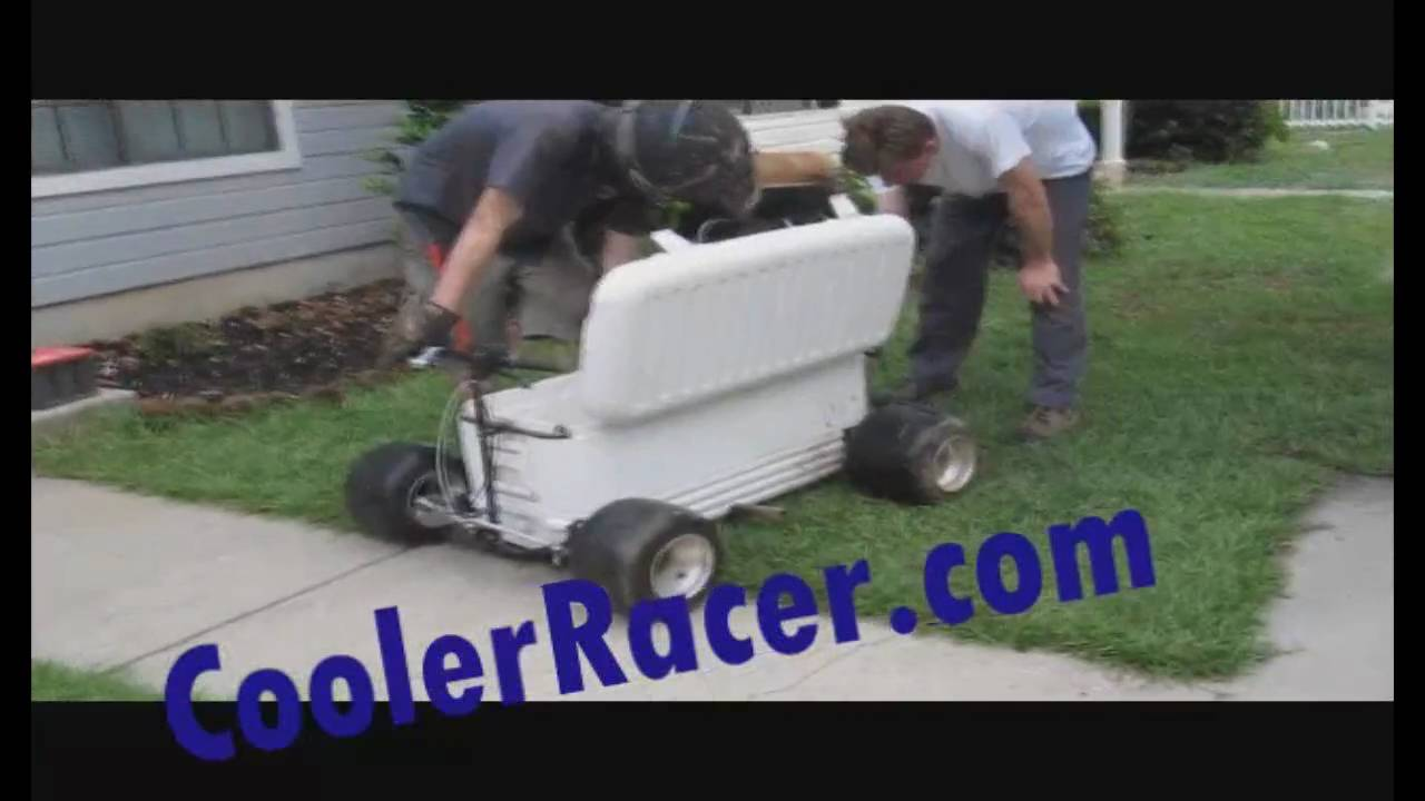 Cooler Racer Worlds Fastest Cooler Ice Chest Goal