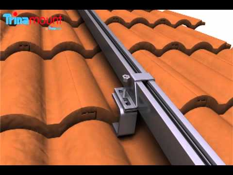 Trinamount I For Tiled Roofs Installation Video Youtube