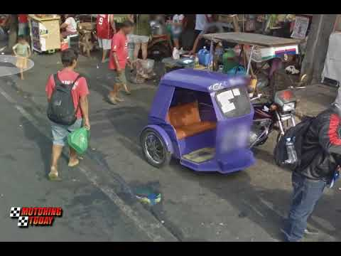 Colorum Tricycles in Q Mart   Public Service